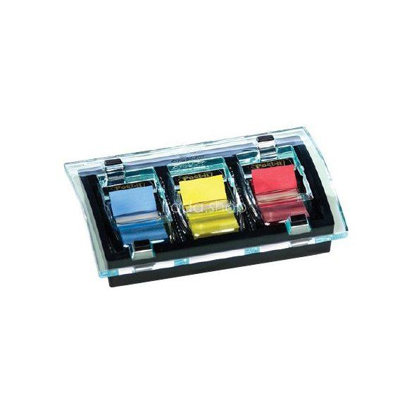 Post-it Index adagoló C2011P  Millenium 680 címkével, 25×43 mm, 6×50 címke