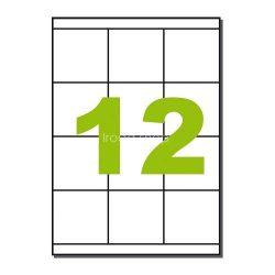 Etikett LCJ132 70x67,7mm 100ív Label