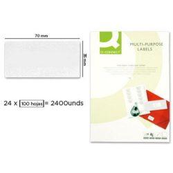Etikett KF10645 70x35mm 100 ív Connect