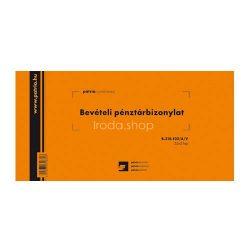 Bevételi pénztárb. 25x3lap B.318-102/A/V Pátria