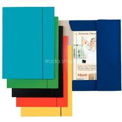 Iratgyűjtő gumis A/4 karton Economy Esselte kék