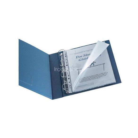 Genotherm A/4 lefűzhető víztiszta 150 mikron oldalt és felül nyitott KF14842
