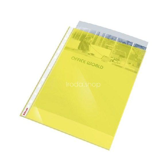 Genotherm A/4 lefűzhető színes 55mn sárga