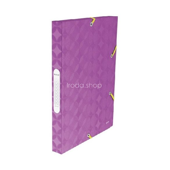 Iratgyűjtő gumis  RETRO CHIC JUMBO műanyag lila