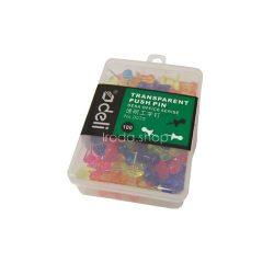 Térképtű színes 100 db-os Deli 11617030 átlátszó