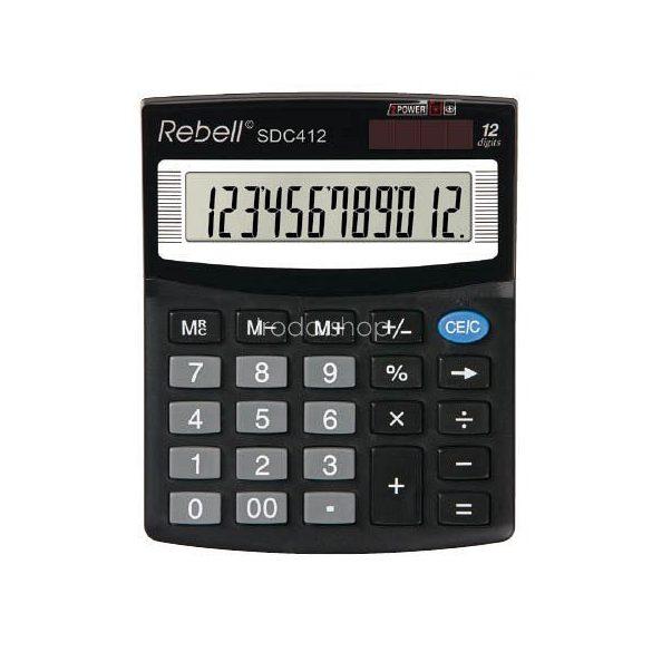 Számológép Rebell SDC812+ asztali