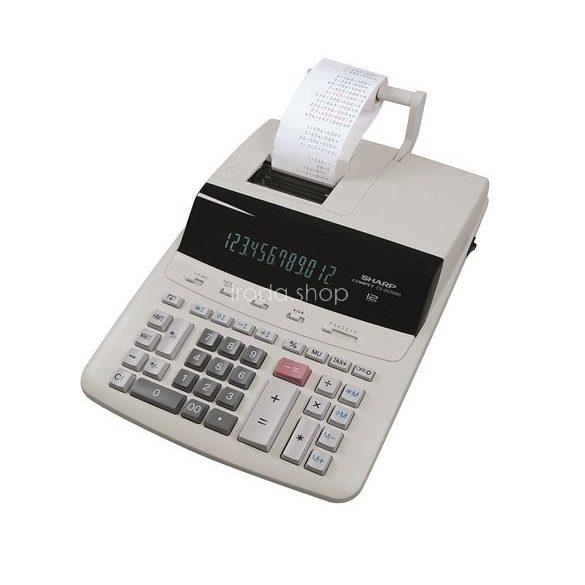 Számológép Sharp CS2635RHGYSE szalagos