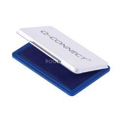 Bélyegzőpárna Q-Connect kicsi, fém, 90x55mm kék