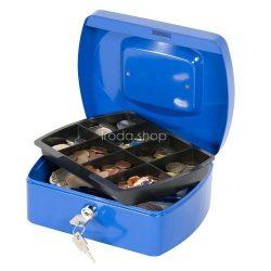 Pénzkazetta 20x16x9 cm Q-Connect / Wedo 145.2 kék