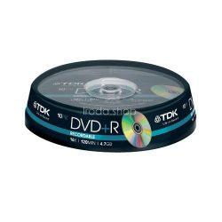 DVD+R TDK 4,7GB 16x 10db henger