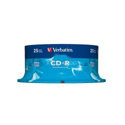 CD-R Verbatim 700MB 52x (DataLife) 25db/henger 43432