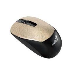 Egér optikai vezeték nélküli Genius NX-7015 USB arany