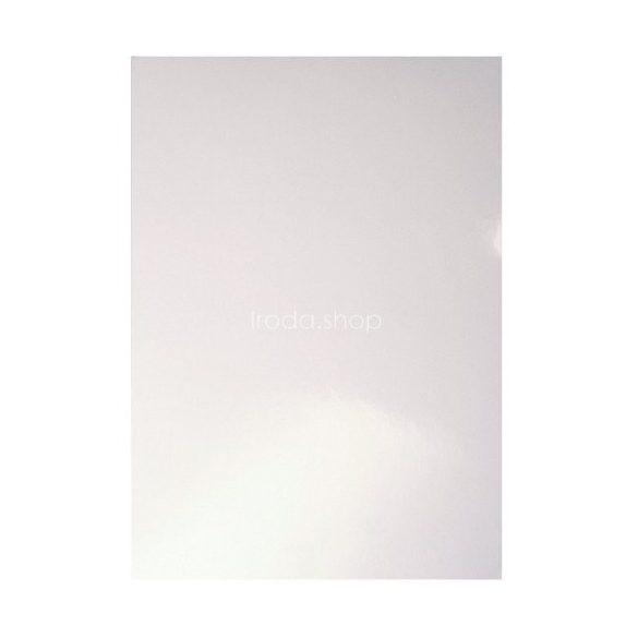 Spirálborító hátlap A/4 fényes fehér 215 g 33651