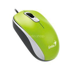 Egér optikai Genius DX-110 vezetékes USB zöld