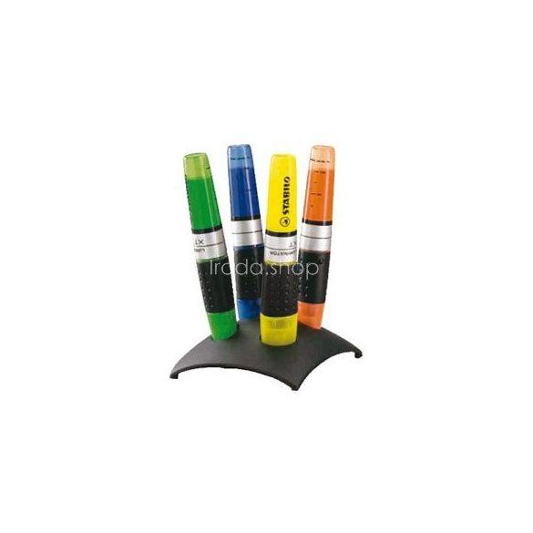 Szövegkiemelő klt. 4db-os Stabilo Luminator 7104-2 asztali