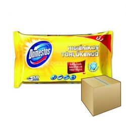 Domestos higiénikus törlőkendő 60 db Lemon 6db/karton
