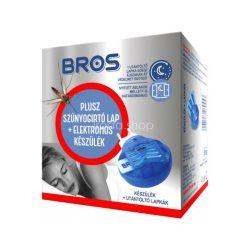Bros elektromos szúnyogirtó készülék + 10db lapka B010
