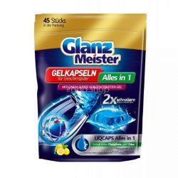 Glanz Meister citromos mosogatógép gélkapszula All in One 45 db